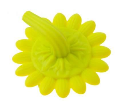 Губка для тела силиконовая Roxy Kids Подсолнух, желтая