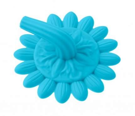 Губка для тела силиконовая Roxy Kids Подсолнух, голубая