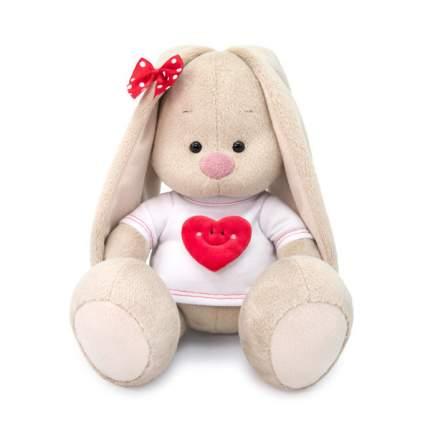 Мягкая игрушка BUDI BASA SidS-319 Зайка Ми в футболке с сердцем
