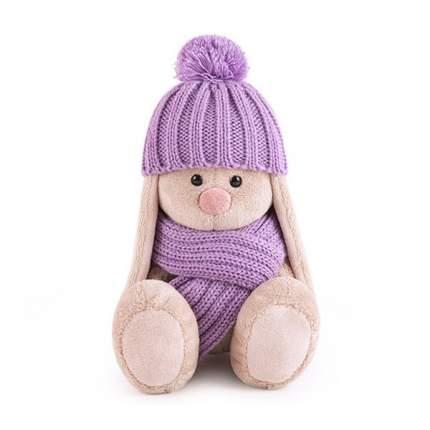 Мягкая игрушка BUDI BASA SidX-392 Зайка Ми в сиреневой шапочке и шарфе 15 см