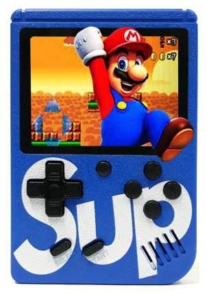 Портативная игровая консоль SUP Blue Game Box 8 bit 400 встроенных игр