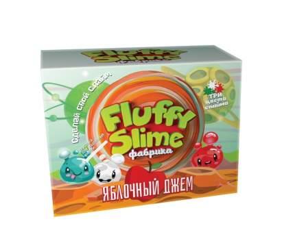 Флаффи слайм-фабрика Яблочный джем 3 слайма 3 цвета