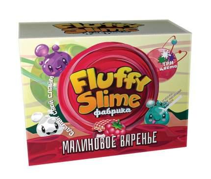 Флаффи слайм-фабрика Малиновое варенье 3 слайма 3 цвета