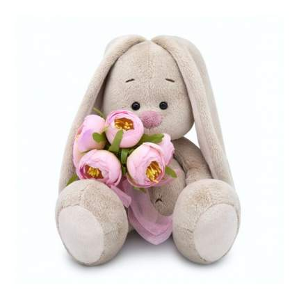 Мягкая игрушка BUDI BASA Зайка Ми с букетом роз большой В1