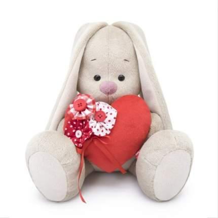 Мягкая игрушка BUDI BASA Зайка Ми с красным сердечком большой, 137198-TN