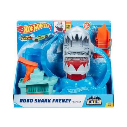 Трек Сити Набор Hot Wheels Ледяная акула GJL12