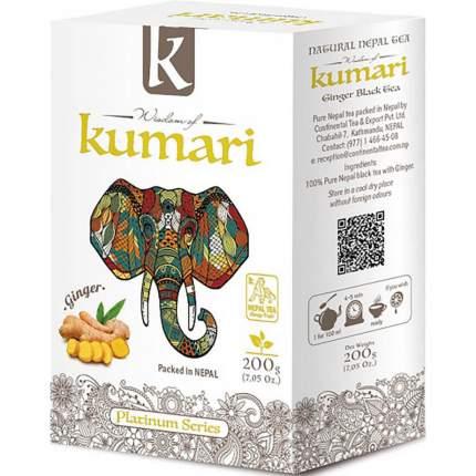 """Чай Wisdom of Kumari """"Имбирь"""", чёрный листовой с добавками, 200 гр"""