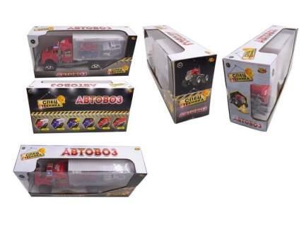 Автовоз ABtoys с четырьмя легковыми машинками