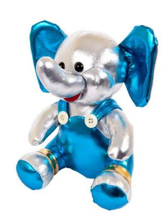 Мягкая игрушка Abtoys Металлик. Слоник серебристый, 16 см.