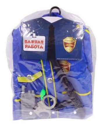 Форма полицейского ABtoys Важная работа, 6 предметов с аксессуарами