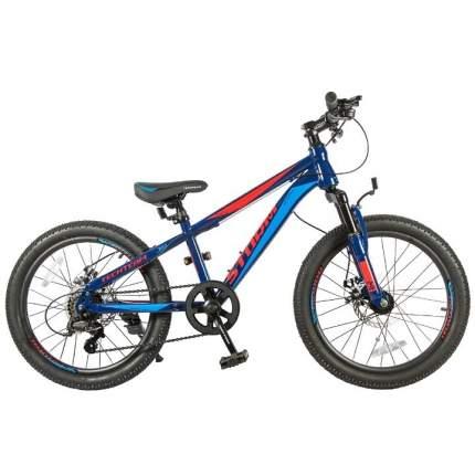 "Велосипед Tech Team Storm 24"" 2020 13"" синий"