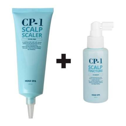 Набор ESTHETIC HOUSE CP-1 состоящий из 2х средств (СПА-средство, тоник для кожи головы)