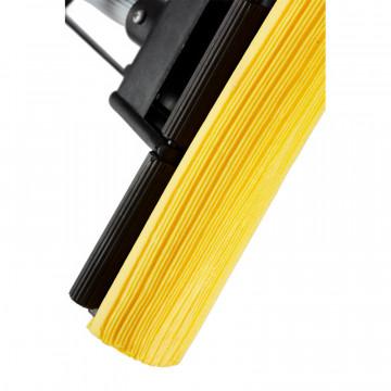 Швабра губчатая д/пола Luscan отжимная PVA МОП металл телескоп. ручка