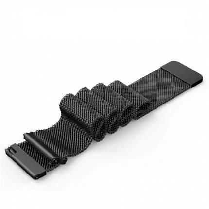 HerzBand Стальной ремешок магнитный замок 20 мм черный