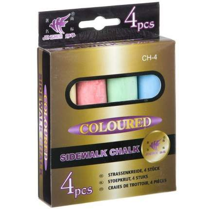 Набор цветных мелков Shantou Gepai CH-4 4 шт.