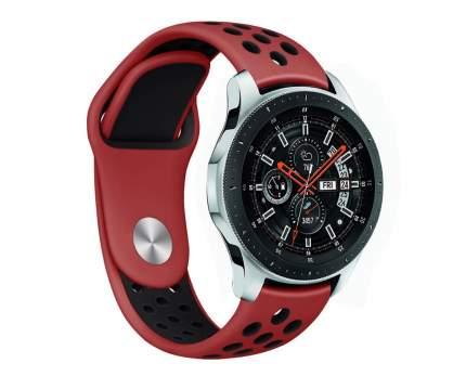 Ремешок Nuobi Sport ver.1 для Xiaomi, Huawei, Samsung, Garmin 22 мм Black/Red