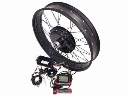 """Набор для электрификации велосипеда.Комплект: 1000W Прямой Задний Fat 26"""""""