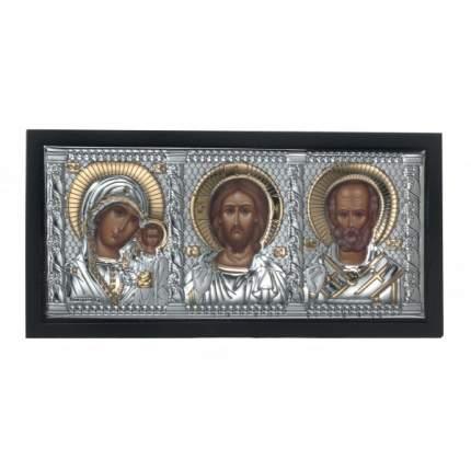 """Икона триптих """"Казанская-Иисус-Николай Угодник"""", Valenti, 85400/2"""