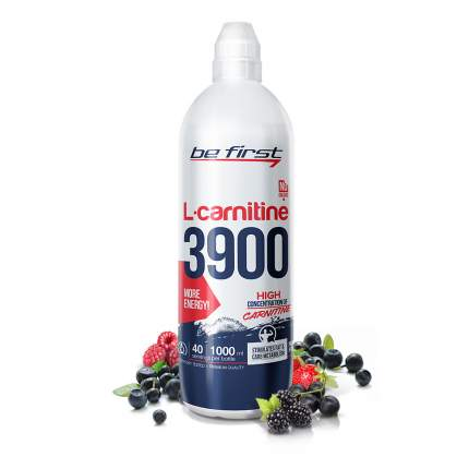 Be First L-Carnitine 3900, 1000 мл, Wild Berries