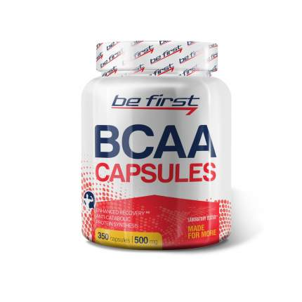 Be First BCAA Capsules 350 капсул без вкуса