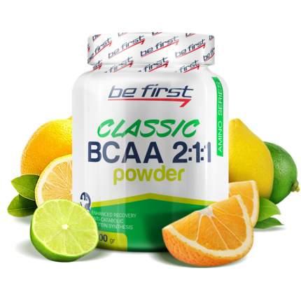 Be First BCAA Classic Powder 200 г цитрусовый микс