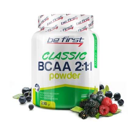 Be First BCAA Classic Powder 200 г лесные ягоды