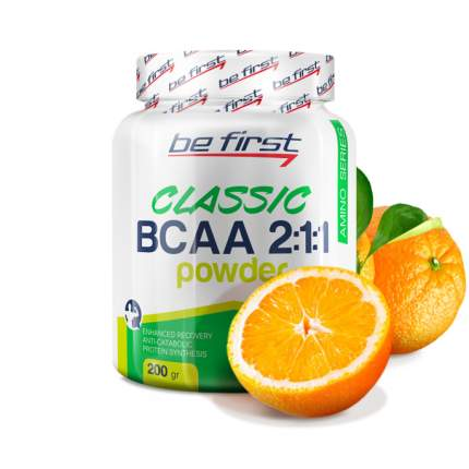 Be First BCAA Classic Powder 200 г апельсин