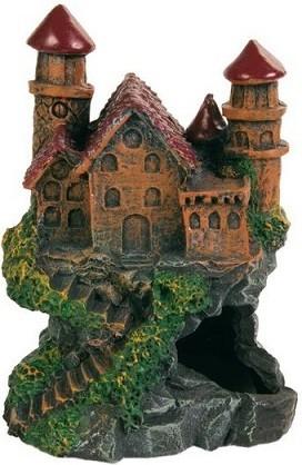 Грот для аквариума TRIXIE Castle Замок, полиэфирная смола, 10х8х14 см