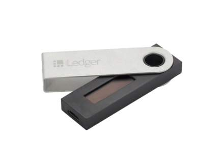 Кошелек для криптовалют Ledger Nano S Black