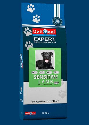 Сухой корм для собак Delimeal Expert Sensitive Lamb All Breed, с мясом ягненка, 20кг