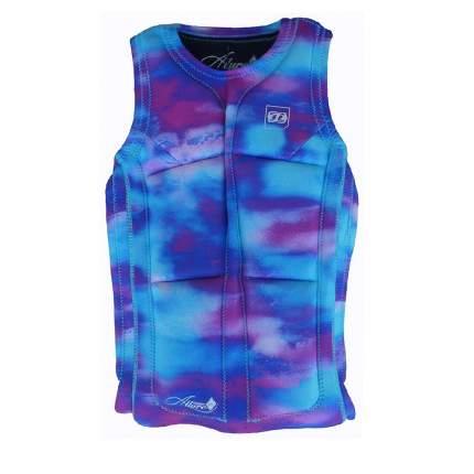 Гидрожилет Jetpilot Bec Ascent Pullover Comp, pink/blue, XS
