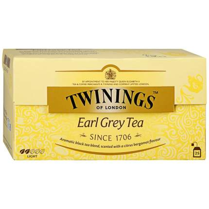 Чай Twinings черный бергамот 25*2 г