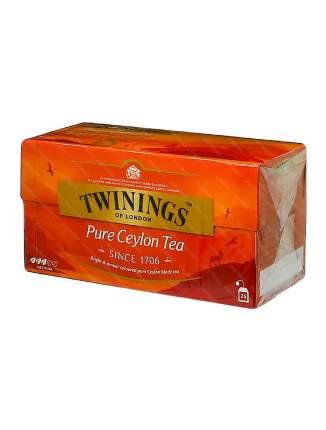 Чай Twinings черный цейлонский 25*2 г