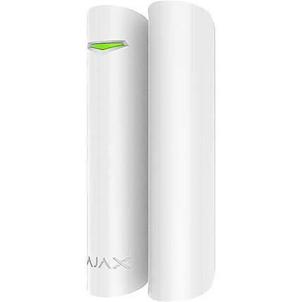 Универсальный датчик открытия дверей и окон Ajax DoorProtect (белый)