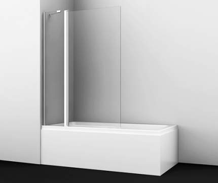 Шторка для ванны WasserKRAFT Berkel 48P02-110 распашная