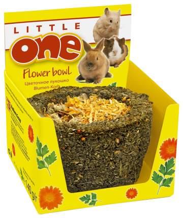 Лакомство для грызунов Little One Лукошко цветочное, 140г