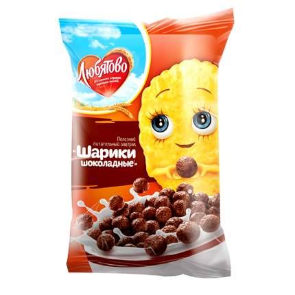 Готовый завтрак Любятово шарики шоколадные 200 г