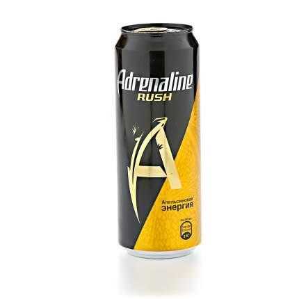 Напиток Adrenaline juicy энергетический газированный 0.449 л