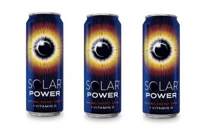 Напиток Solar power Brain boost энергетический газированный  0.45 л