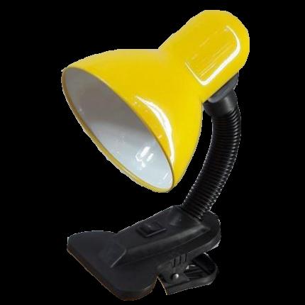 Светильник GTL-026 60W E27 на прищепке желтый GENERAL 45332