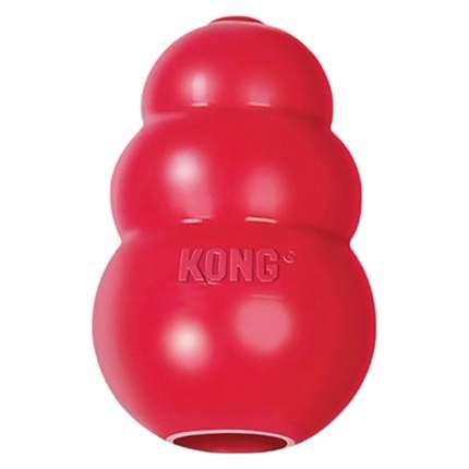 Игрушка для лакомств для собак KONG Classic S, красный, длина 7 см