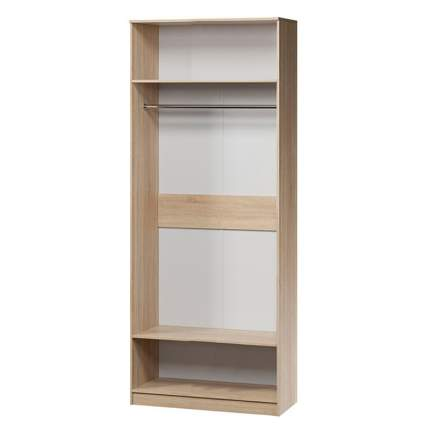 Шкаф для одежды Шарм-Дизайн Евро лайт 70х60 Дуб Сонома и Белый