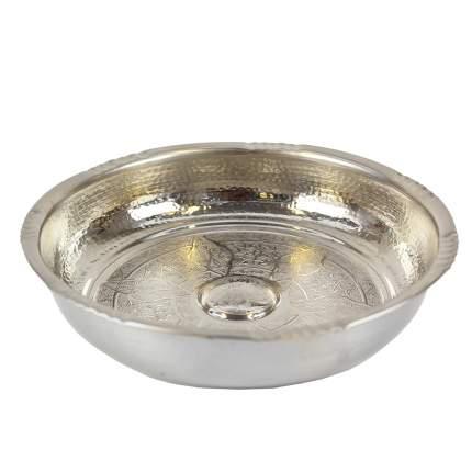 Чаша для хаммама никелерованная хм001