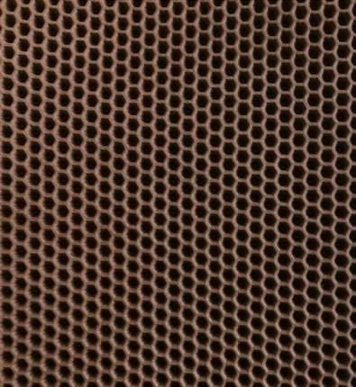 Коврик  под туалетный лоток  Зверье мое Чистый Пол, 65х40 см, Коричневый