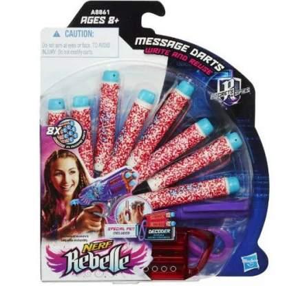 Комплект стрел Hasbro 8 шт. для секретных сообщений, невидимый маркер и декодер
