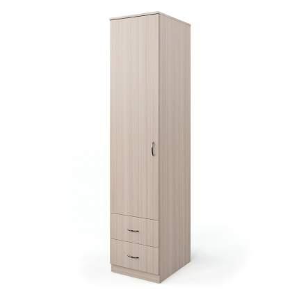 Шкаф однодверный Шарм-Дизайн Мелодия 40х60 Ясень шимо светлый