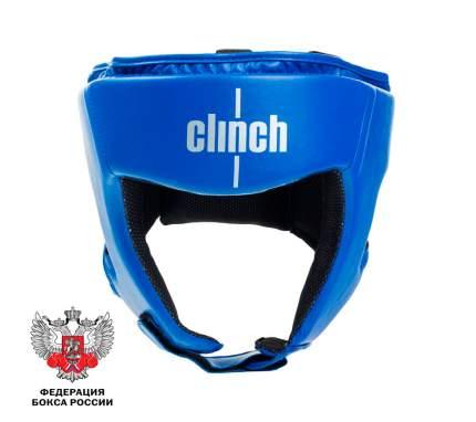 Шлем боксерский Clinch Olimp синий (размер L)