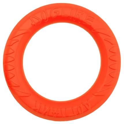 Апорт для собак DOGLIKE Кольцо 8-мигранное DL среднее, оранжевый, 28 см