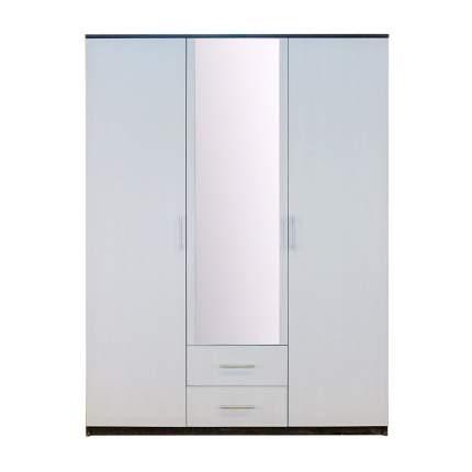 Шкаф Шарм-Дизайн Уют 150х52х200 Венге и Бодега Белая