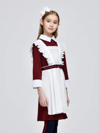 Фартук для девочек SMENA цв.белый 10343 р.152/76